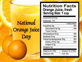 The Tangy National Orange Juice Day Is Here 